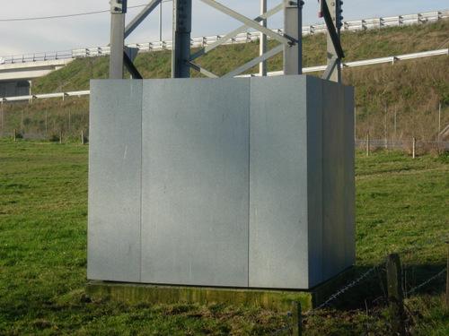 Antiescalo metálico para torre monobloque